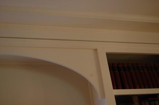 Detail of elliptical arch
