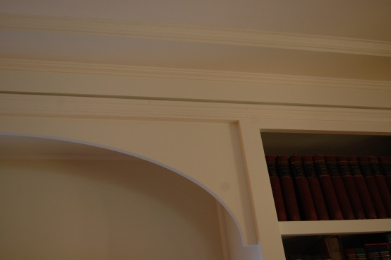 Detail of elliptical arch